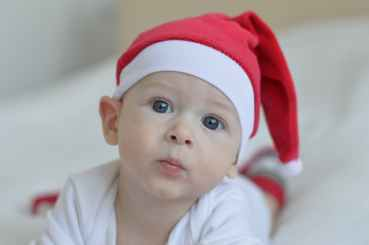 child christmas baby cute